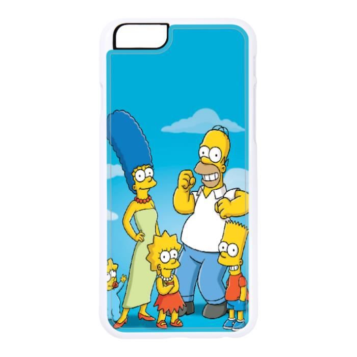 coque iphone 6 les simpson