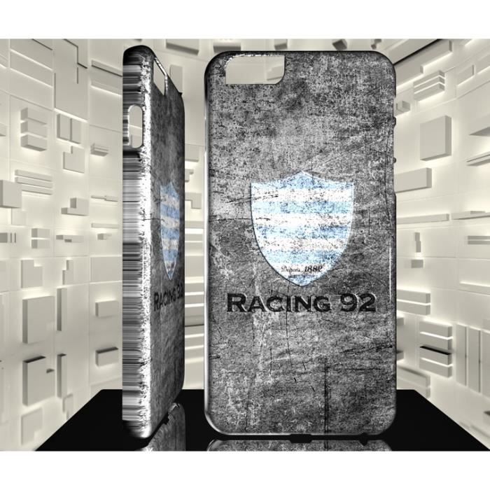 Coque pour iPhone 6 6S Rugby Club Racing Métro 92 01 - Achat coque ...