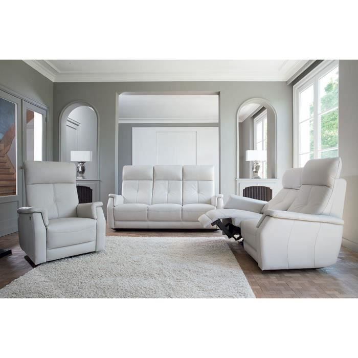 ensemble canap de relaxation manuel 3 2 places baxter. Black Bedroom Furniture Sets. Home Design Ideas