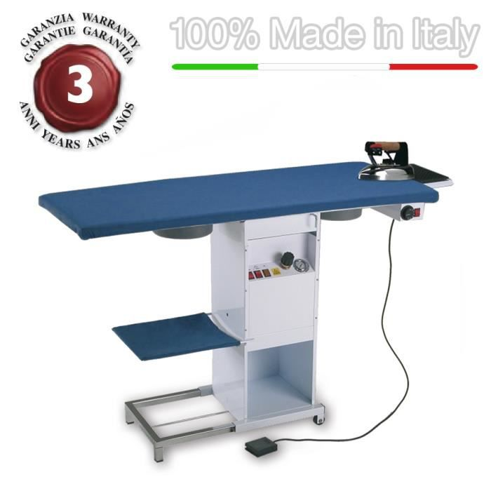 eolo table repasser rectangulaire professionnelle avec. Black Bedroom Furniture Sets. Home Design Ideas