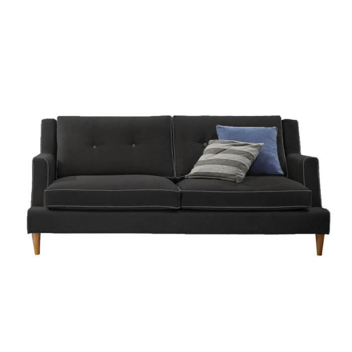 volda canap 160 cm 2 places achat vente canap sofa divan volda canap 160 cm 2. Black Bedroom Furniture Sets. Home Design Ideas