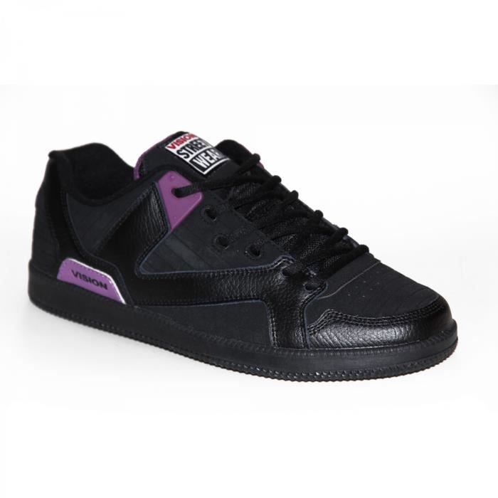 samples shoes VISION STREET WEAR BALLISTIC BLACK PURPLE MEN
