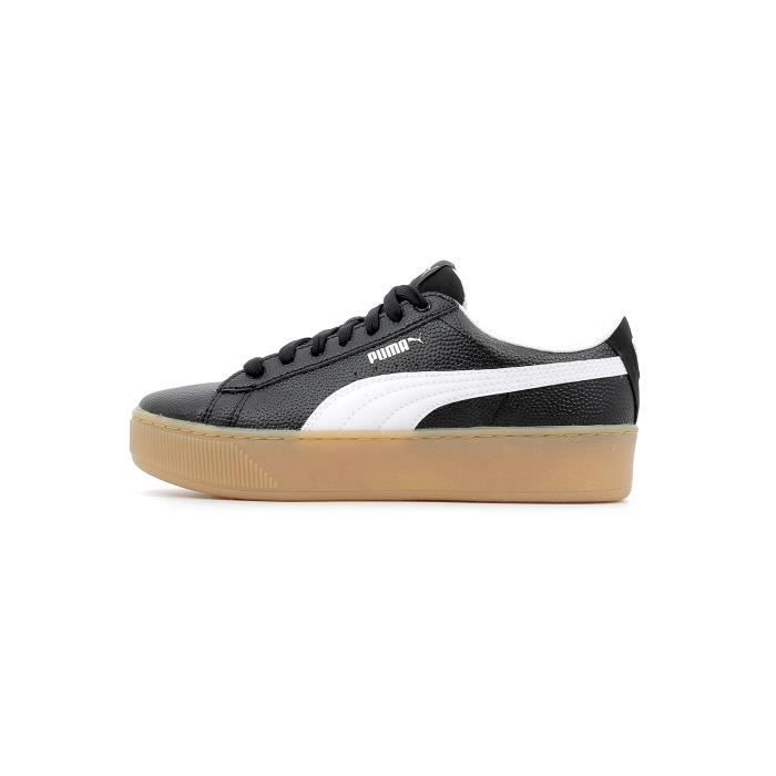 Baskets basses Puma Puma Vikky Platform BSQ coloris Puma Black Puma White