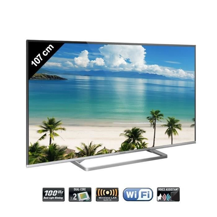 panasonic tx 42as600e tv connect e full hd 105 cm t l viseur led avis et prix pas cher. Black Bedroom Furniture Sets. Home Design Ideas