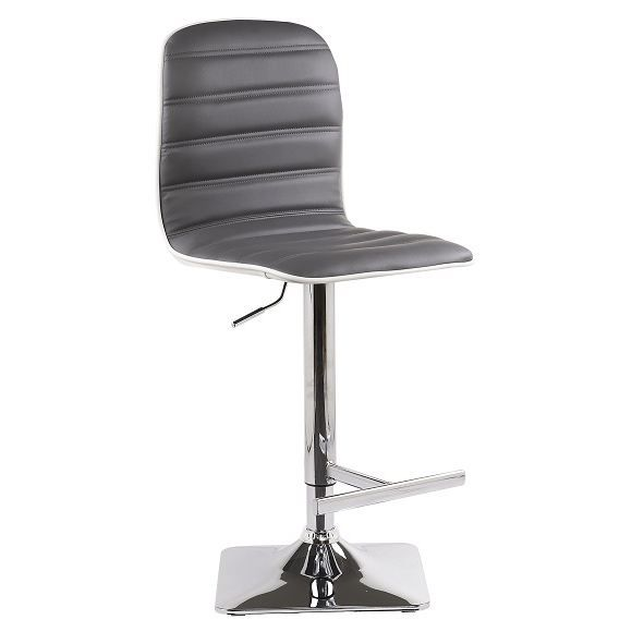 Tabourets chaise de bar town gris achat vente tabouret for Achat chaise de bar