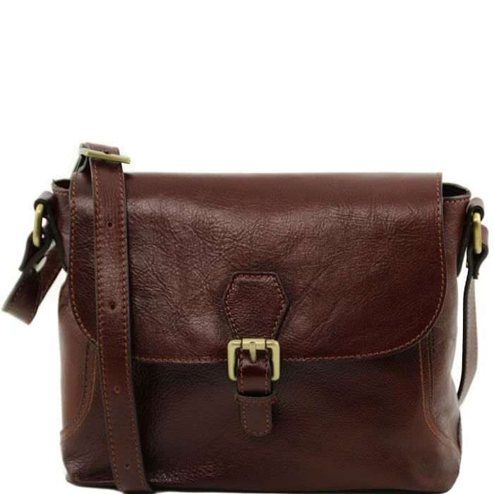 Sac porté épaule cuir - Marron Tuscany Leather ry6YW26ZGO