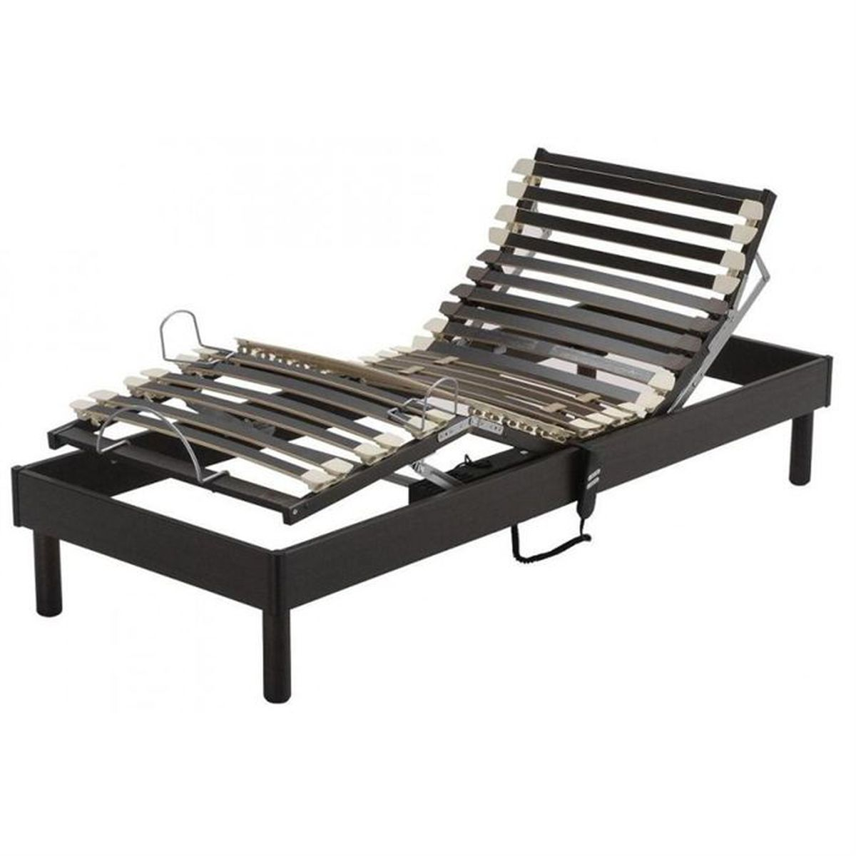 Sommier Someo Relaxation Electrique 90x190 Achat Vente Sommier