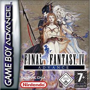 JEU GBA FINAL FANTASY IV ADVANCE