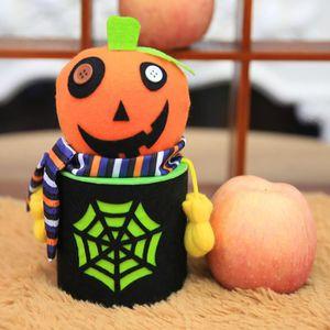 Déco de fête murale Bonne fête d'Halloween Bouteille Bonbons Jar maiso
