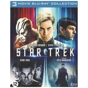 BLU-RAY FILM Star Trek : Coffret La trilogie (Blu Ray)