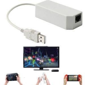 CÂBLE JEUX VIDEO USB Internet Ethernet LAN Réseau Connecteur Câble