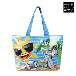 PANIER - SAC DE PLAGE Sac de Plage Emoticônes Summer Time Gadget and Gif