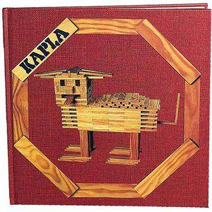 ASSEMBLAGE CONSTRUCTION KAPLA Livre d'Art Volume 1 - Rouge
