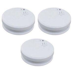 DÉTECTEUR DE FUMÉE 3 détecteurs de fumée norme CE - EN 14604