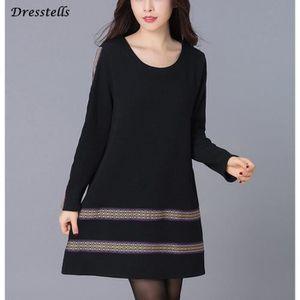 CHEMISIER - BLOUSE Dresstells femme robe boho tee shirt manche longue