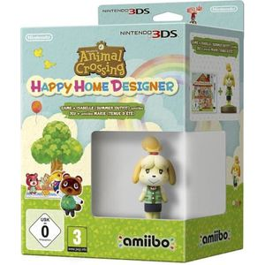 JEU 3DS 3DS  ANIMAL CROSSING HAPPY HOME + AMIIBO ISABELLE