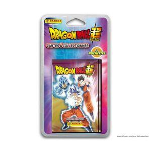 CARTE A COLLECTIONNER DRAGON BALL SUPER TC - Stickers Blister 4 pochette
