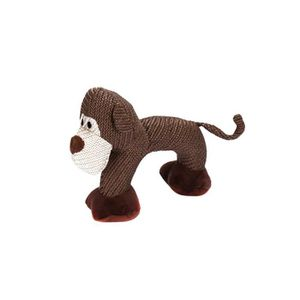 PELUCHE Animaux Squeaky Peluche Singe Forme Puppy Chewing