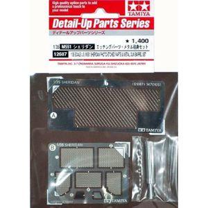 ACCESSOIRE MAQUETTE M551 Sheridan Photo-etched Parts & Metal Gun Barre