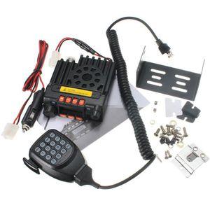 TALKIE-WALKIE VHF/UHF 136-174/400-480MHz 25W Dual Band Mobile Ra