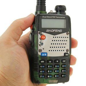 TALKIE-WALKIE Talkie walkie Professionnel Baofeng bi-bande FM Tr