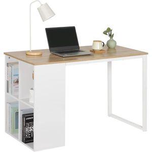 BUREAU  WOLTU Bureau d'ordinateur avec 4 Compartiment ouve