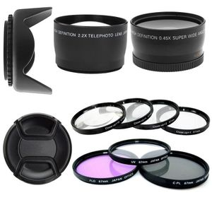 FILTRE PHOTO Kit 67mm - Convertisseur Telephoto et Grand Angle