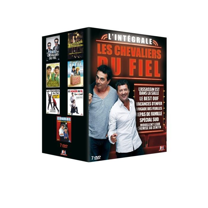 dvd coffret int grale les chevaliers du fiel en dvd film. Black Bedroom Furniture Sets. Home Design Ideas
