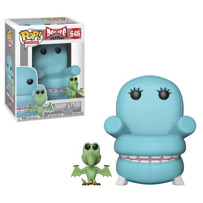 Figurine Funko Pop! Pee-Wee's Playhouse: Chairry avec Pterri