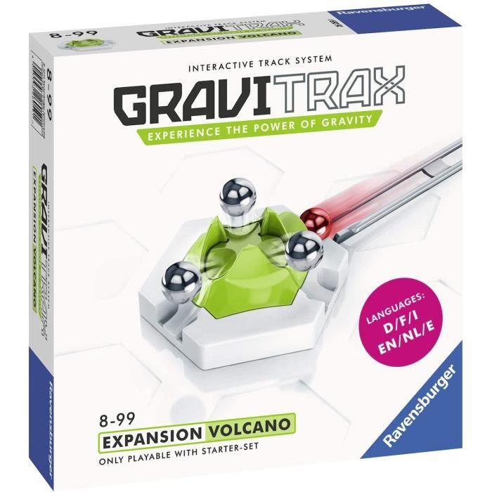 Jeux de construction Ravensburger - Gravitrax - Bloc action Volcano-Volcan - Jeu de construction - Circuit de billes cr 52730