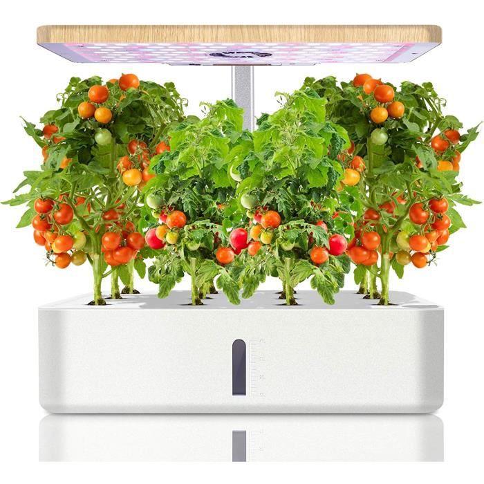 Jardin d'herbes Hydroponique, Smart Hydroponic Garden Kit avec LED Lampe de Plante
