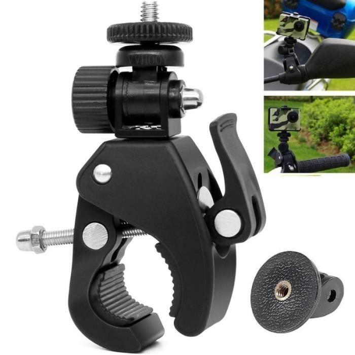Accessoires Photo,Trépied à vis pour Gopro Hero, 1-4 degrés, haute qualité, support de fixation de guidon de vélo, caméra DV DSLR,