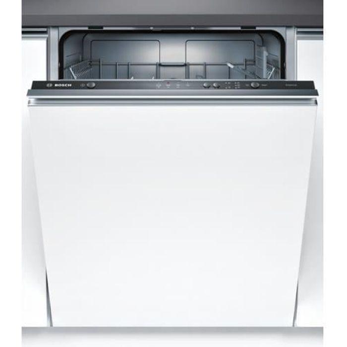 Bosch Serie 2 SMV24AX00E, Entièrement intégré, Taille maximum (60 cm), Noir, boutons, LED, 1,75 m