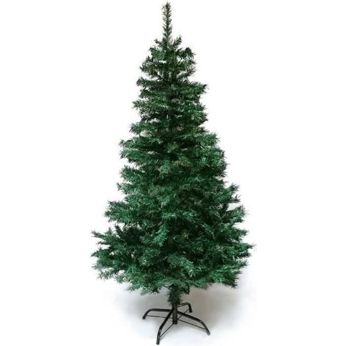 Sapin de Noël artificiel qualité luxe 150 cm