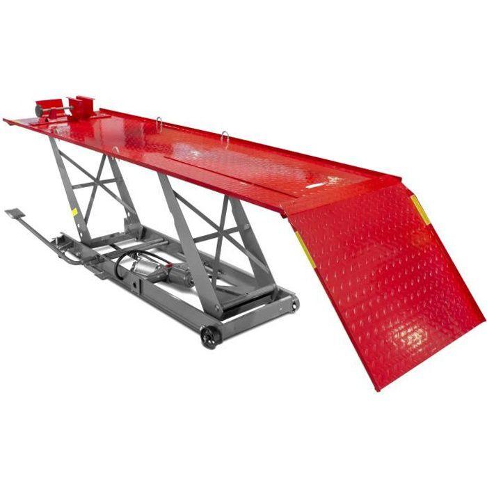 Pont moto hydropneumatique 450 kg MW-Tools TPSL450