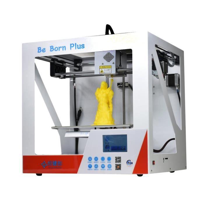 Imprimante 3D Métal mat Écran Lcd Niveau Automatique Bebornplus