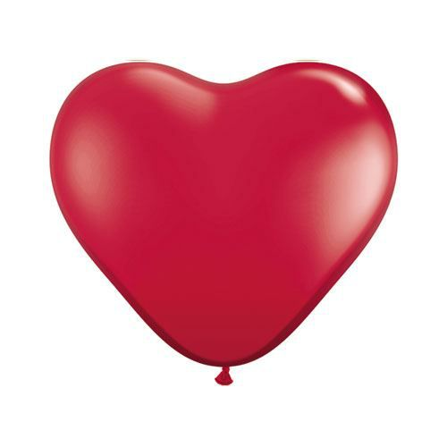 Ballon Coeur Rouge RubisRuby Red Ballon Taille …