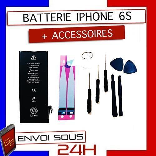 Batterie téléphone Batterie iphone 6s 100% Neuve + outils + adhesif