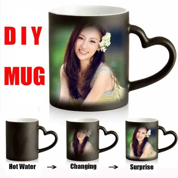 diy mug mugs personnalis s impression par sublimation thermique tasse en c ramique mug. Black Bedroom Furniture Sets. Home Design Ideas