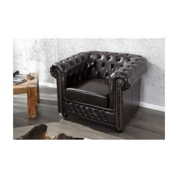 fauteuil bas dina noir achat vente fauteuil pu. Black Bedroom Furniture Sets. Home Design Ideas
