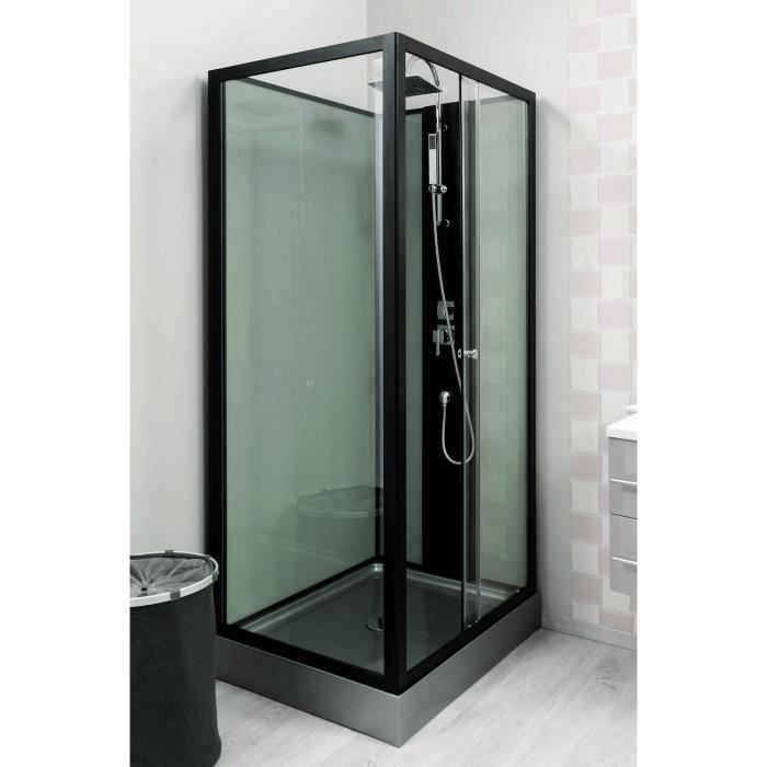 cabine de douche astoria 100x80cm achat vente cabine de douche cabine 80x100cm astoria. Black Bedroom Furniture Sets. Home Design Ideas