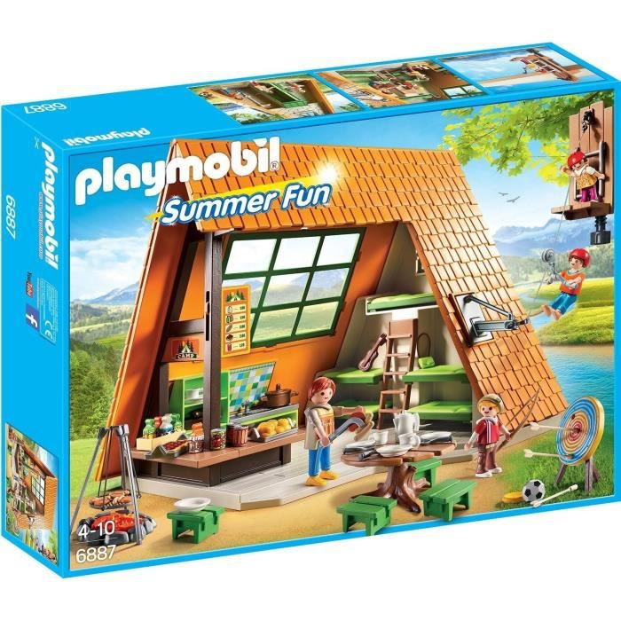 UNIVERS MINIATURE PLAYMOBIL 6887 - Summer Fun - Gîte de Vacances