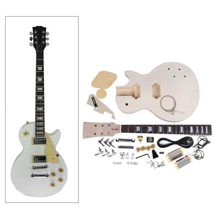 lp style guitare lectrique bricolage trousse de panoplie. Black Bedroom Furniture Sets. Home Design Ideas
