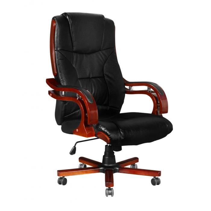 CHAISE DE BUREAU Fauteuil Direction Ergonomique Chaise De Bureau Cr