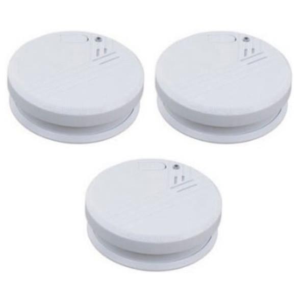 10er-set détecteurs de fumée avec batterie Avertissement /& testtaste-Autorisation après en14604