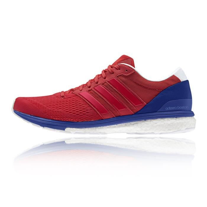 sports shoes ddc32 bf055 Adidas Adizero Boston Boost 6 Chaussures De Course À Pied Multicolore Homme