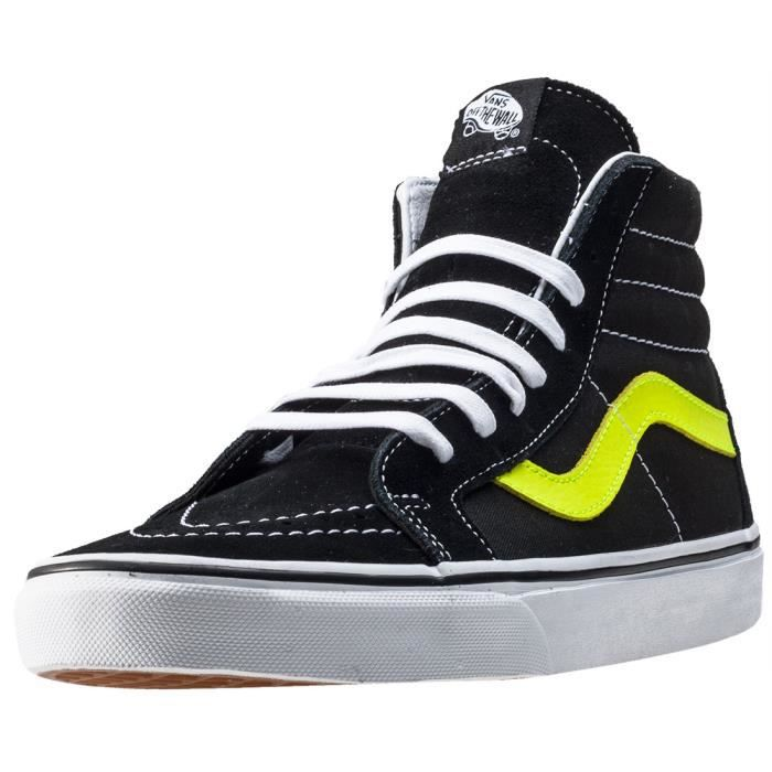Hommes Lime UK Vans Reissue 9 Baskets Sk8 hi Black wn7tf