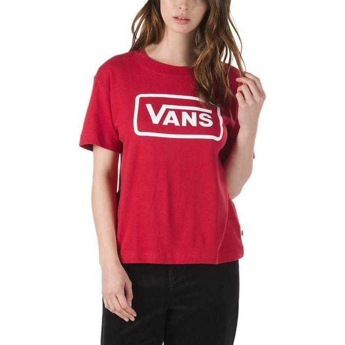 vans fille t-shirt