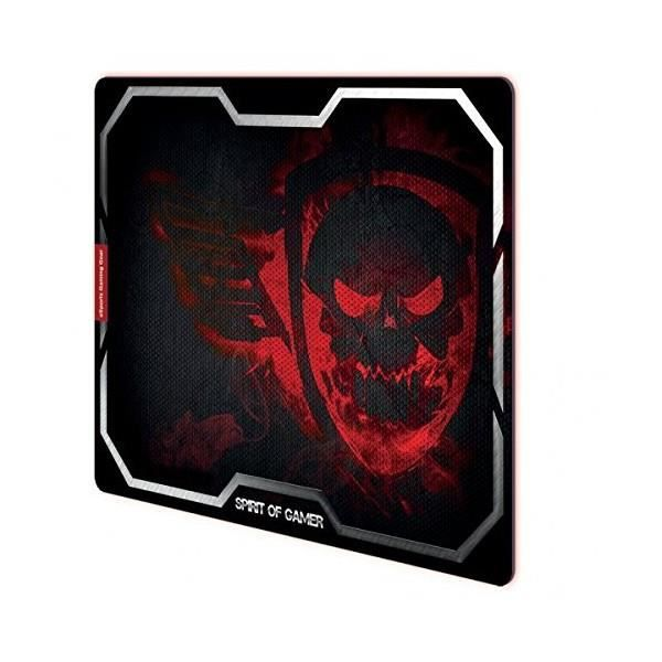 tapis de souris spirit of gamer red smokey skull taille. Black Bedroom Furniture Sets. Home Design Ideas