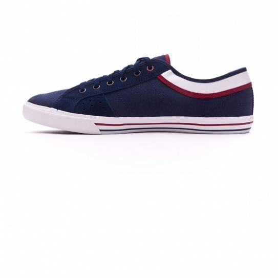 Chaussures Saint Ferdinand Cvs Suede Dress Blue/Ruby Wine - Le Coq Sportif